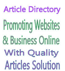 Article Directory for webmasters and business owners